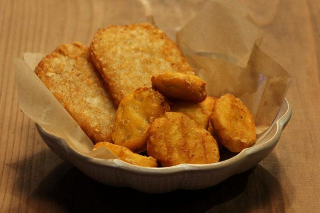 チキンナゲット&ハッシュドポテト